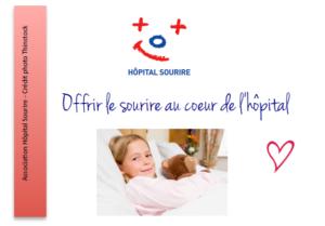 Hôpital sourire accompagne les enfants